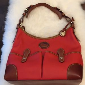 Dooney&Bourke Red Leather Bag!!